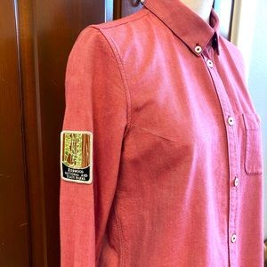 Redwood State Park Patch- Upcycled Shirt